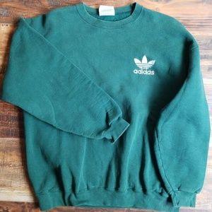 Adidas crew neck fleece